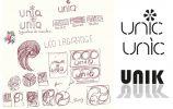 Création identitaire et graphique pour le spectacle de natation synchronisée du club Léo Lagrange à Nantes par nayla pallard design