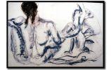 Nayla Pallard  Drawing Monchrome