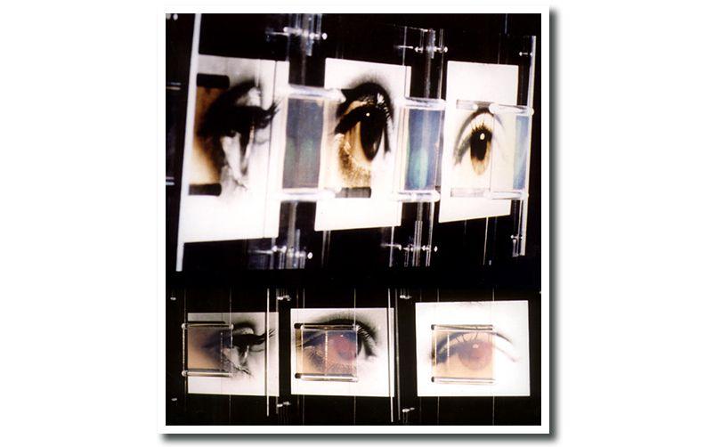 Nayla Pallard Holography 1992, Le regard de Jean Paul Sartre